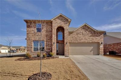 Hutto Single Family Home Pending - Taking Backups: 118 Plantain Dr