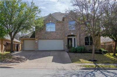 Round Rock Single Family Home For Sale: 1113 Winding Creek Pl