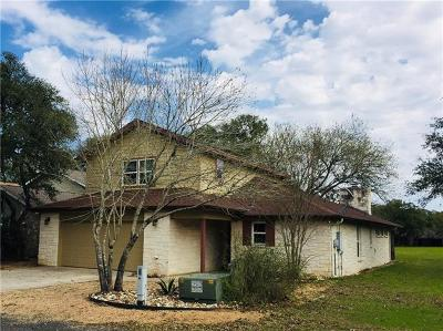 Wimberley Single Family Home For Sale: 26 Par View Dr