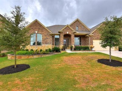 Round Rock Single Family Home For Sale: 2545 Los Alamos Pass