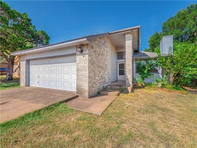 Leander Single Family Home Pending - Taking Backups: 1805 Twisted Oak Dr