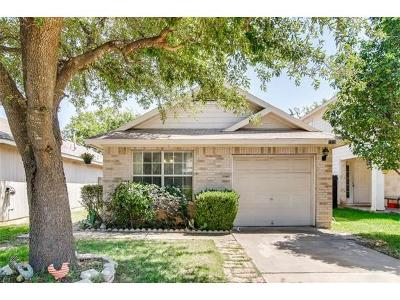 Round Rock Single Family Home For Sale: 1518 Parkfield Cir