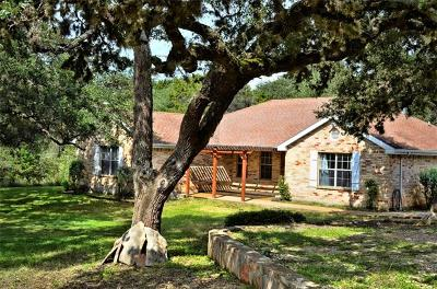 Wimberley Single Family Home For Sale: 211 Packsaddle Pass