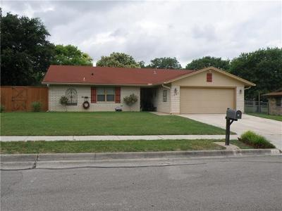 Killeen Single Family Home Pending - Taking Backups: 1901 Ruiz Dr