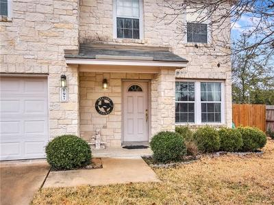 Georgetown Single Family Home For Sale: 97 Stonehedge Blvd