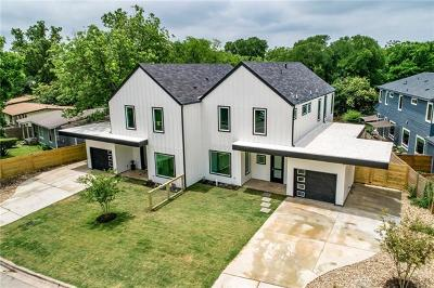 Austin Single Family Home For Sale: 4701 Sara Dr #B