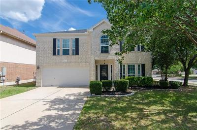 Round Rock Single Family Home For Sale: 3600 Windhill Loop