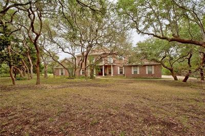 Dripping Springs Single Family Home Pending - Taking Backups: 108 Twin Saddles Ln