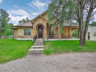 Bastrop County Single Family Home For Sale: 476 Wilhelm Way