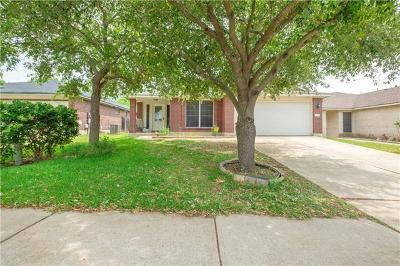 Round Rock Single Family Home For Sale: 3855 Willie Mays Ln
