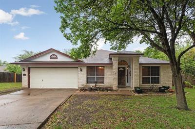Cedar Park Single Family Home Pending - Taking Backups: 1508 Lunday Dr