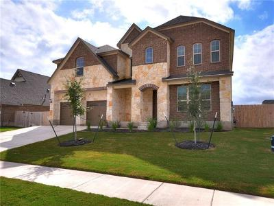 Round Rock Single Family Home For Sale: 2241 Hat Bender Loop