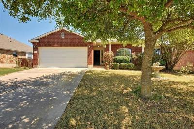 Pflugerville Single Family Home Pending - Taking Backups: 14619 Harcourt House Ln