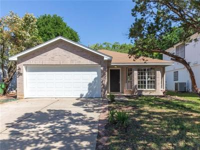 Round Rock Single Family Home For Sale: 1612 Sylvia Ln