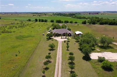 Hutto Single Family Home For Sale: 1870 County Road 109