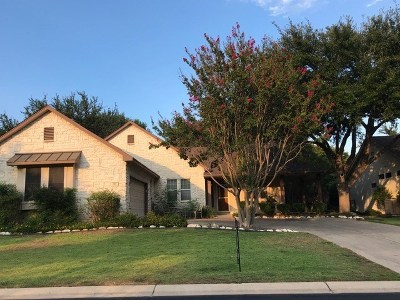 Georgetown Single Family Home Pending - Taking Backups: 102 Waterlily Ln