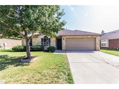 Leander Single Family Home Pending - Taking Backups: 1003 Saint Helena Dr