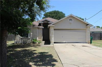Cedar Creek Single Family Home Pending - Taking Backups: 116 Songbird Ct