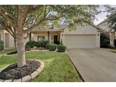 Round Rock Single Family Home Pending - Taking Backups: 733 Crane Canyon Pl
