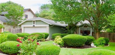 Cedar Park Single Family Home Pending - Taking Backups: 1601 Texas Oak Way