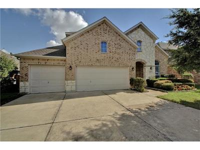 Pflugerville Single Family Home For Sale: 2608 Quiet Water Pass