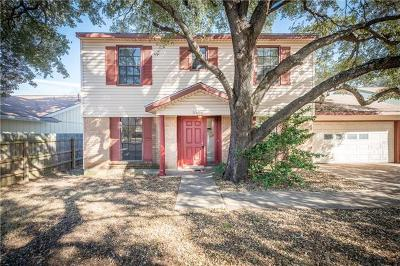Hays County, Travis County, Williamson County Single Family Home For Sale: 3308 Western Dr