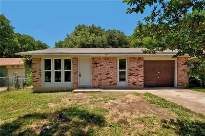 Austin Single Family Home Pending - Taking Backups: 2303 Bitter Creek Dr