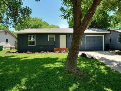 Hays County, Travis County, Williamson County Single Family Home Pending - Taking Backups: 7813 Bixler Dr