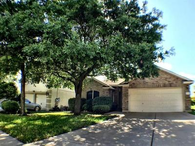 Pflugerville Single Family Home For Sale: 17917 Madden Dr