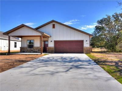 Burnet County Single Family Home For Sale: 465 Dove Trl