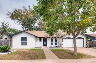 Travis County Single Family Home Pending - Taking Backups: 1602 Thornridge Rd S