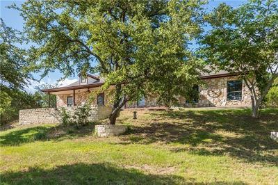 Leander Single Family Home For Sale: 11601 White Rim Ter
