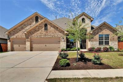 Round Rock Single Family Home For Sale: 5012 Savio Dr