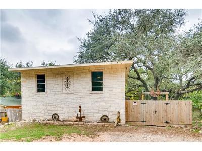 Jonestown Single Family Home Pending - Taking Backups: 18419 Plazaway St