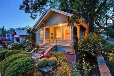 Travis County Single Family Home Pending - Taking Backups: 810 Blanco St