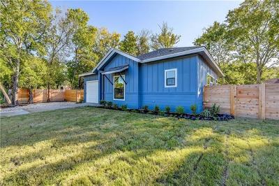 Austin Single Family Home Pending - Taking Backups: 1121 Estes Ave #B