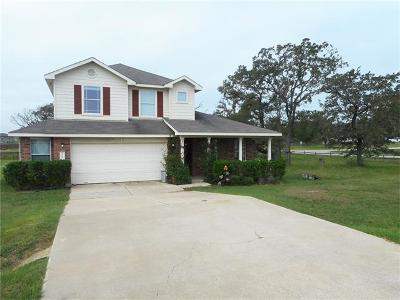 Cedar Creek Single Family Home For Sale: 105 Wildflower Cv