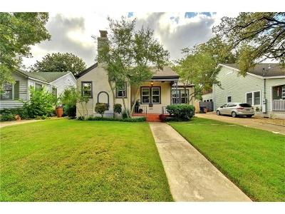 Austin Single Family Home For Sale: 1605 Wethersfield Rd