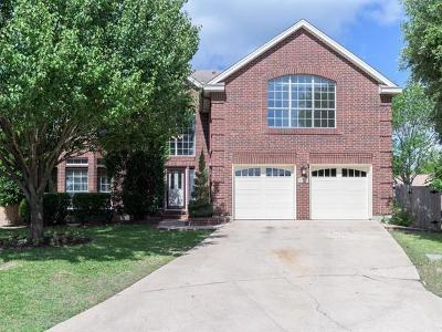 Cedar Park Single Family Home For Sale: 1004 Hawks Nest Cv