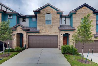 Round Rock Condo/Townhouse For Sale: 1001 Zodiac Ln #52
