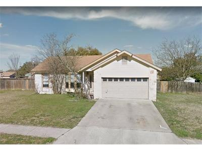 Leander Single Family Home Pending - Taking Backups: 2706 Tumlinson Fort Dr
