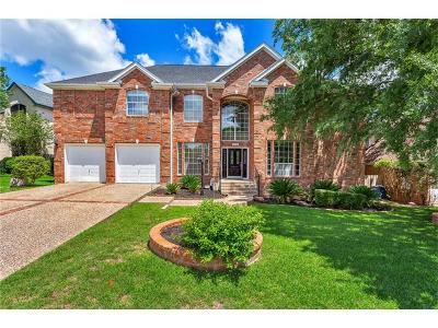 Austin Single Family Home Active Contingent: 7558 Fireoak Dr