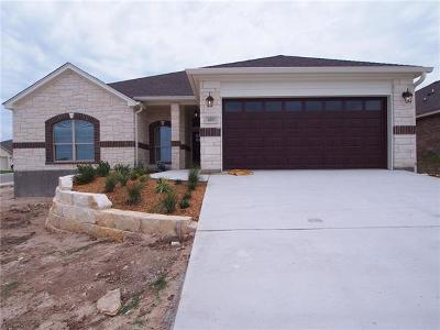 Jarrell Single Family Home For Sale: 420 Western Sky Trl