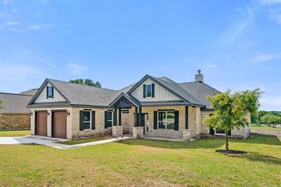 Burnet Single Family Home For Sale: 100 Travis Trl