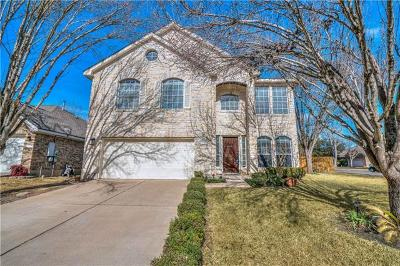 Cedar Park Single Family Home For Sale: 1226 Red Ranch Cir