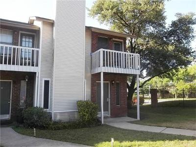 Austin Condo/Townhouse For Sale: 1841 River Crossing Cir #E