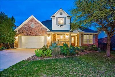 Cedar Park Single Family Home For Sale: 1802 Purple Sage Dr