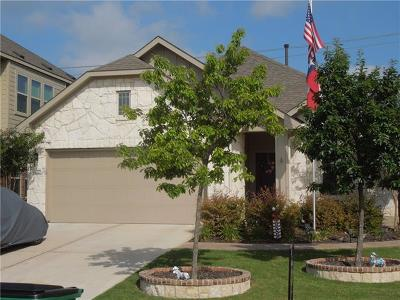 Pflugerville Single Family Home For Sale: 2506 Auburn Chestnut Ln