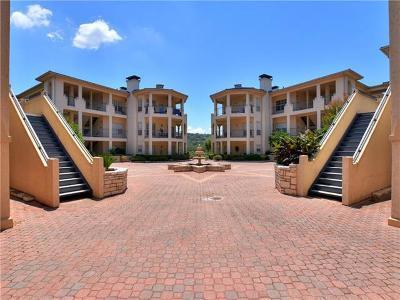 Lago Vista Condo/Townhouse For Sale: 3404 American Dr #1308