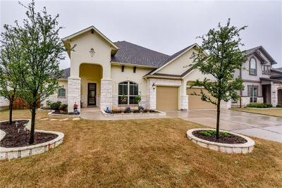 Cedar Park Single Family Home For Sale: 3308 Vaquero Ln